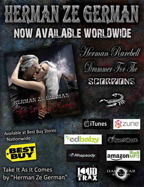 Herman Rarebell Official Site